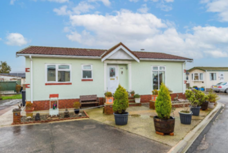 Pre-owned park home for sale on Burlingham Park Garstang